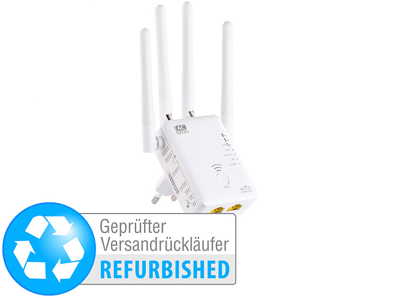 ; WLAN-Repeater, Powerline-Adapter