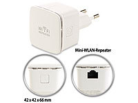 7links Mini-WLAN-Repeater WLR-350.sm mit Access-Point & WPS-Knopf, 300 Mbit/s; Powerline-Adapter Powerline-Adapter Powerline-Adapter Powerline-Adapter