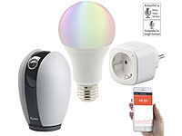 7links Smart-Home-Starter-Set 2, kompat. zu Amazon Alexa & Google Assistant